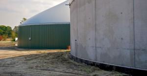 Nordfol-PELD Leckkontrollsysteme für Biogasanlagen